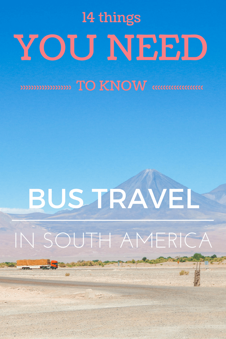Travelling between countries in South America by bus can be stressful. These tips will make sure the journey to your destination is as smooth as possible. That way you have more time to enjoy each country – be it the beautiful beaches of Brasil or the amazing landscape throughout the continent #southamerica #traveltips #travel