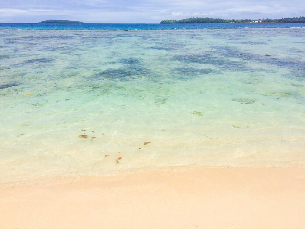 Beach in Vava'u - one of the best places in Tonga!