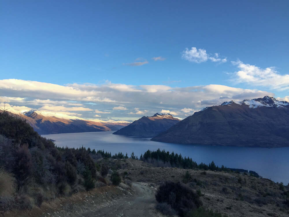 View in Queenstown - one of the must see places in New Zealand