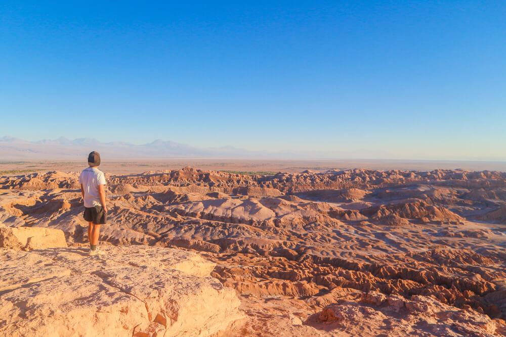 Viewpoint in Valle de la Luna - San Pedro de Atacama guide