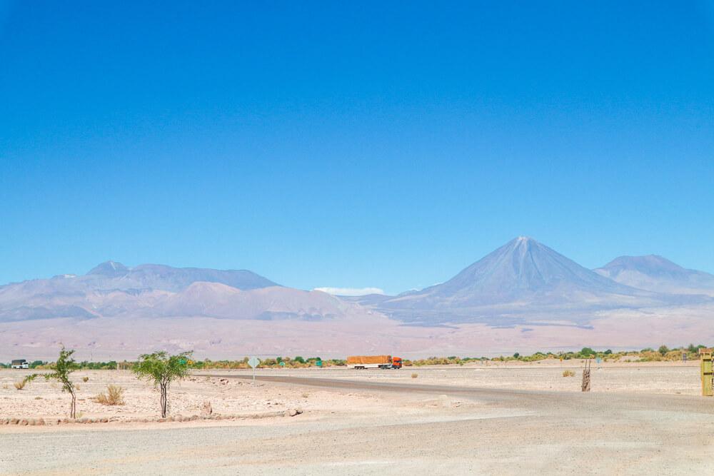 Roads in San Pedro de Atacama, Chile - Bus travel South America