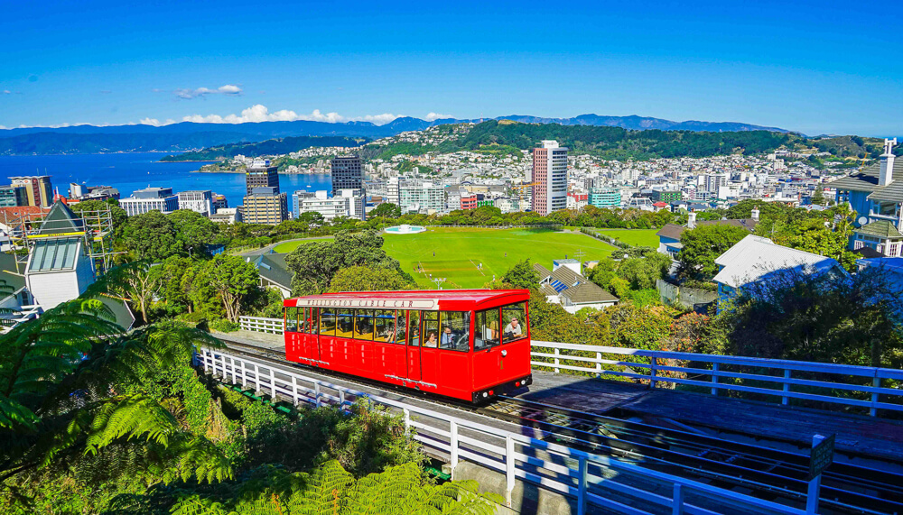 Wellington, the country's capital, is a must see place in New Zealand