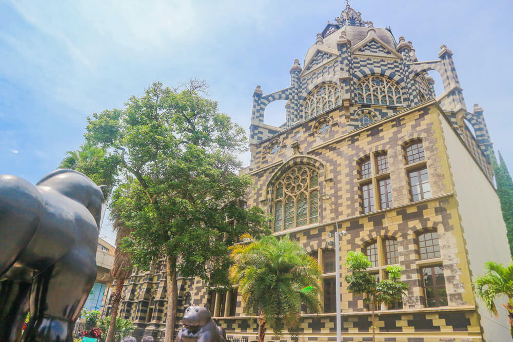 Plaza Botero - unique architecture and sculptures are points of interest in Medellin