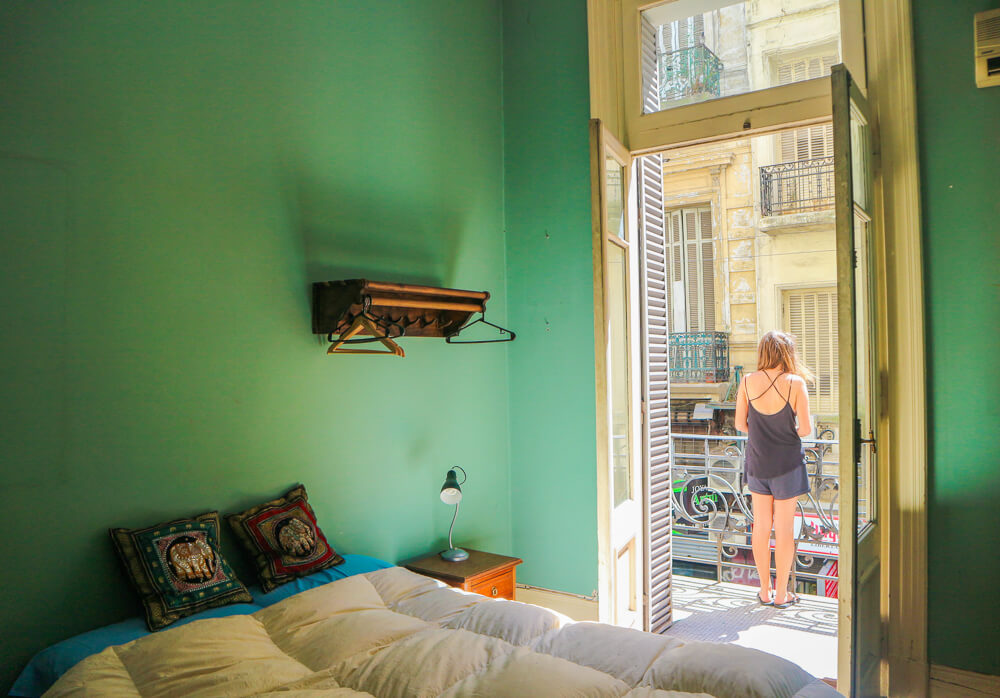 A property in central Buenos Aires - find out how to get great properties for a fraction of the price hotels charge with this beginner's guide to Airbnb.