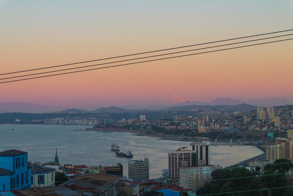 View from an Airbnb in Valparaiso - amazing views aren't always expensive!