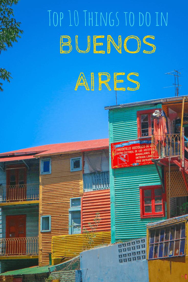 Buenos Aires Sights Pin
