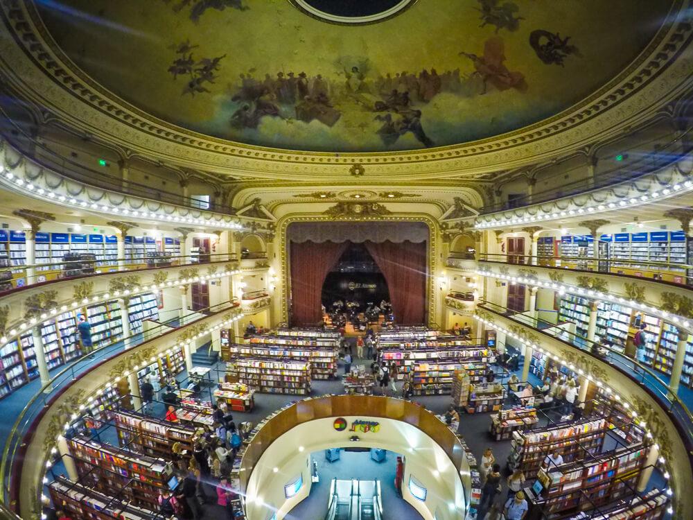 El Ateneo a lesser known Buenos Aires sight