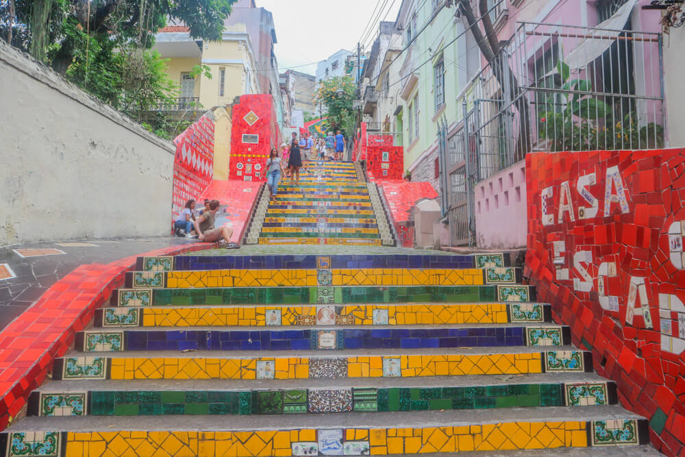 The Lapa Steps were originally a hidden gem in Rio