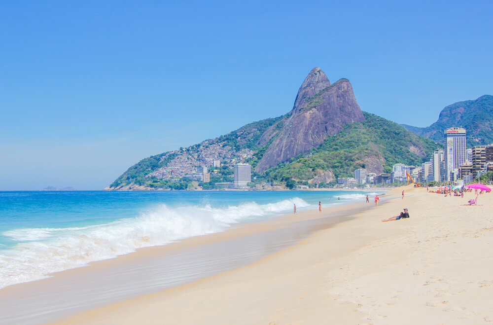 Ipanema beach - too well known to be one of the hidden gems in Rio.