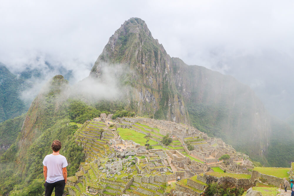 View of Machu Picchu - follow the new Machu Picchu rules to have the best experience