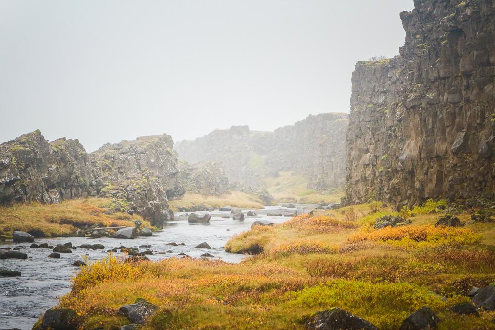 The Unique landscape of Þingvellir national park, a must see South Iceland destination