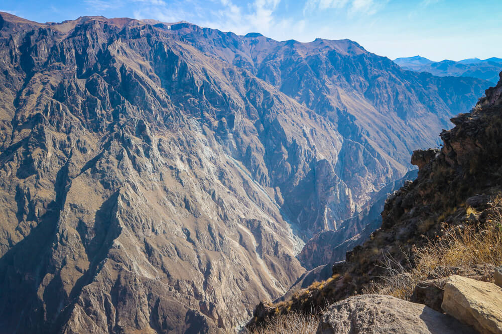Cruz del Condor in the Colca Canyon - sixth stop on your 14 day Peru itinerary