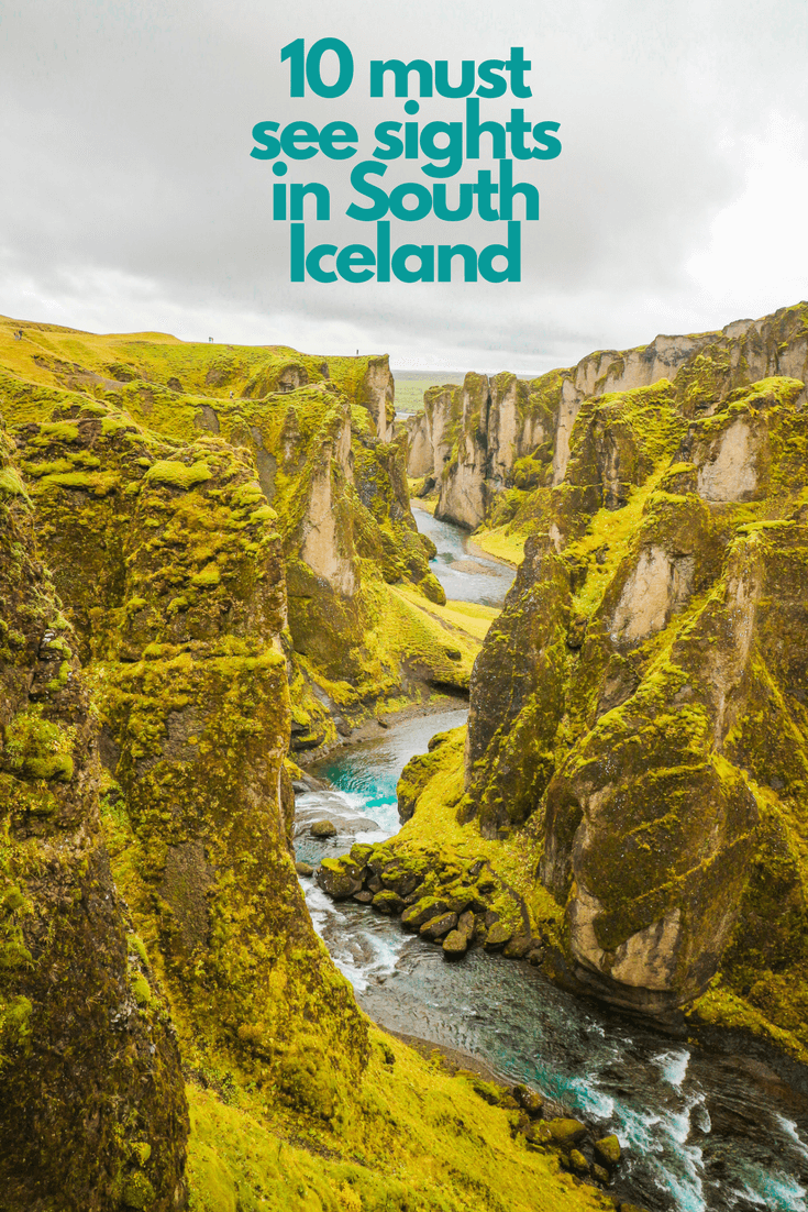 Must see South Iceland pin
