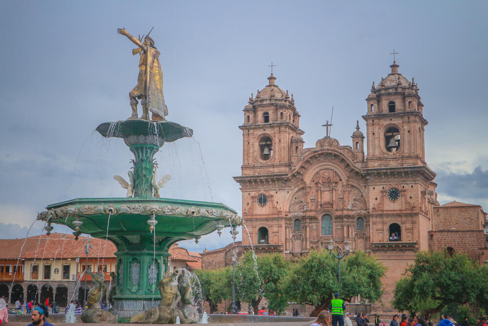 Plaza de Armas in Cusco - seventh stop on your 14 day Peru itinerary
