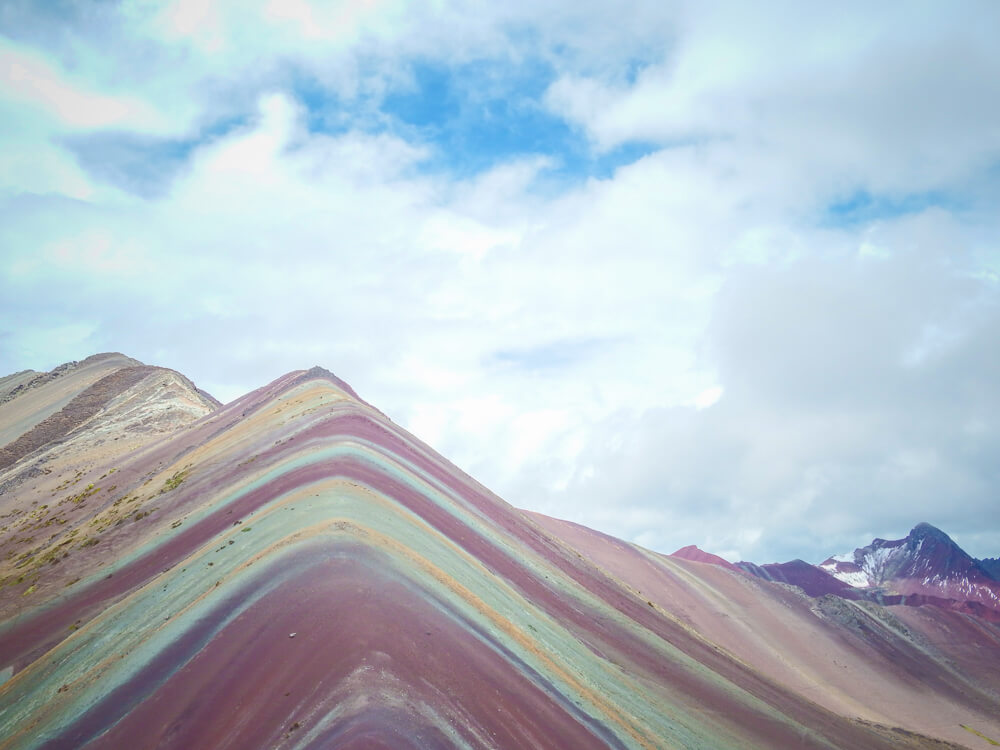 Rainbow Mountain, accessed on a tour from Cusco - the final stop on your 14 day Peru itinerary