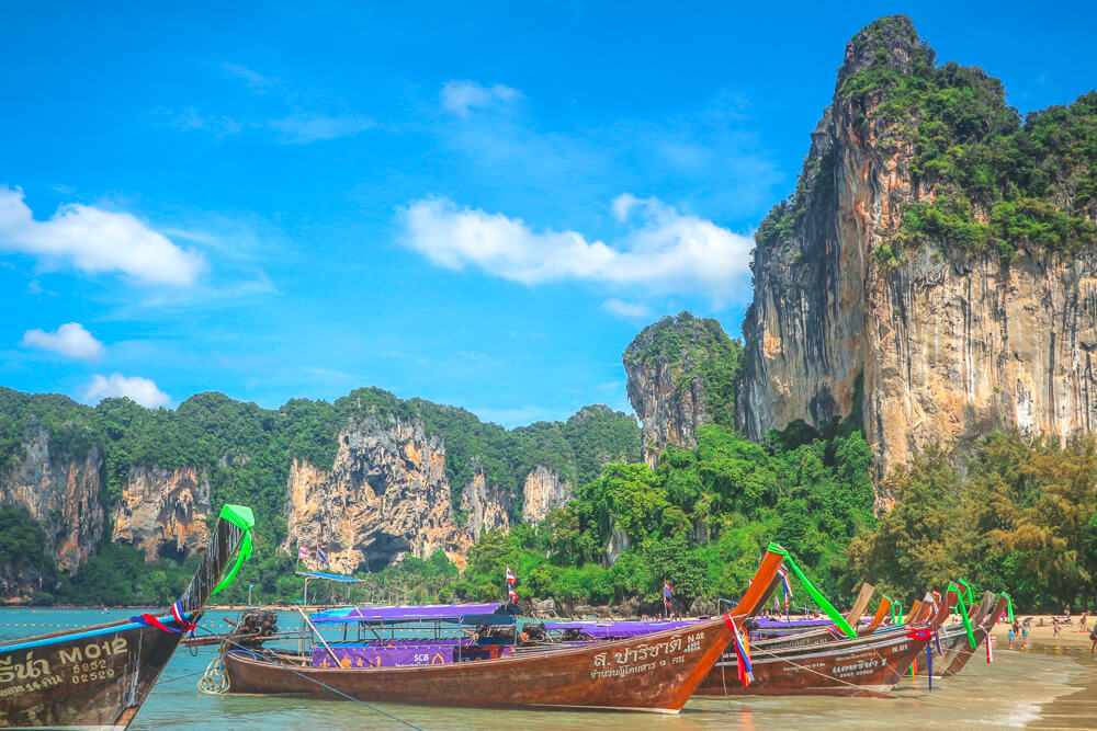 Railay Beach in Ao Nang travel guide