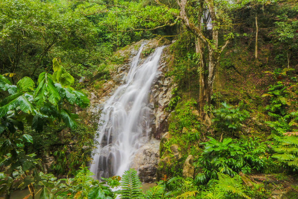 Marina waterfall, a must do activity in Minca as part of a Colombia itinerary