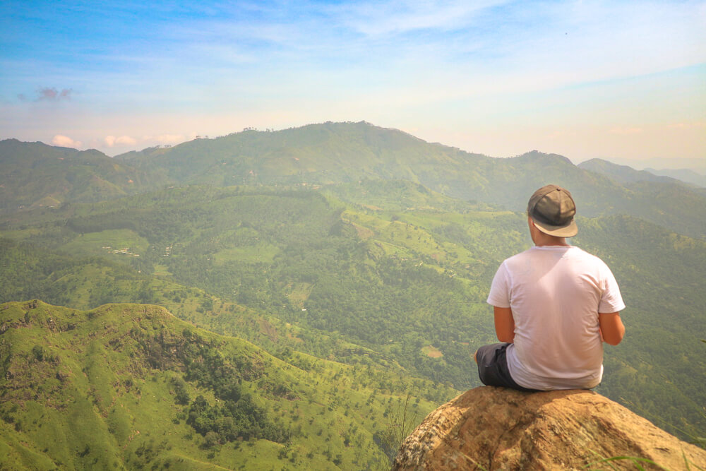 View from Ella Rock, tips for travelling Sri Lanka