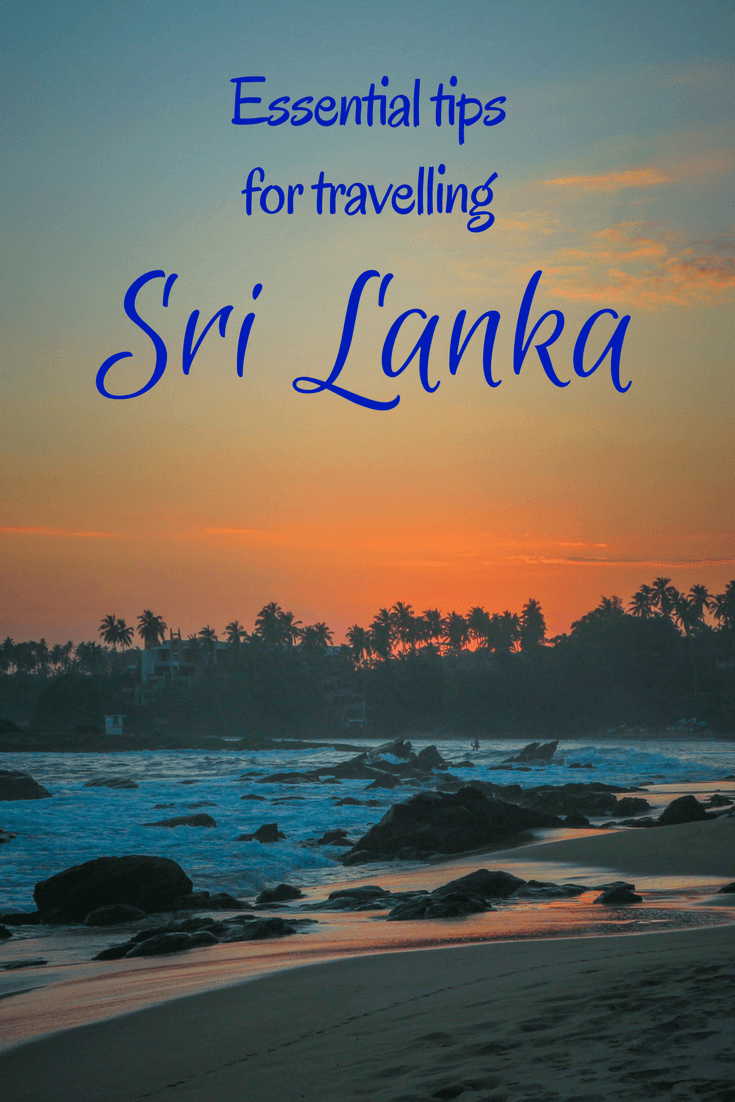 Sri Lanka is a travel destination many want to take a trip or holiday too. There are plenty of places to visit, some of our highlights were relaxing at the beach, elephant spotting on safari in national parks, whale watching in Mirissa or meeting friendly local people on train rides. With many wanderlust worthy places to visit, Find out about other travel tips you should know before visiting Sri Lanka #traveltips #srilanka #travel