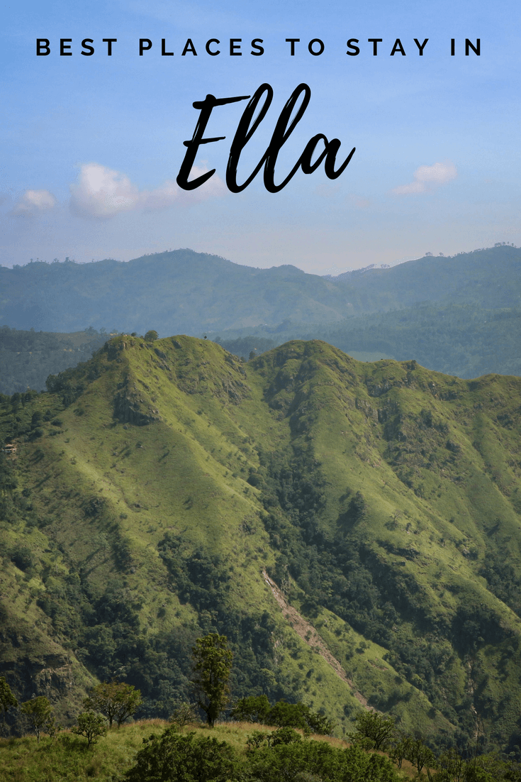 Best places to stay in Ella pin