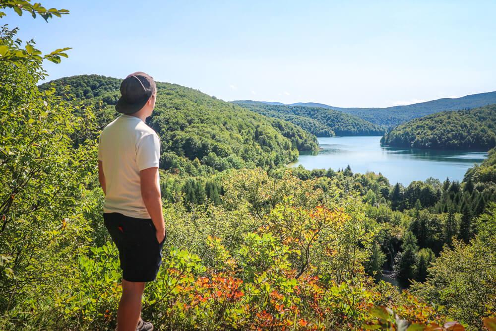 View of Lake Proscansko - Plitvice guide