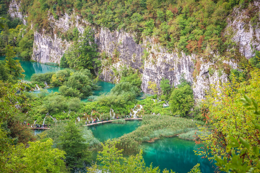 Lower lakes - Plitvice guide