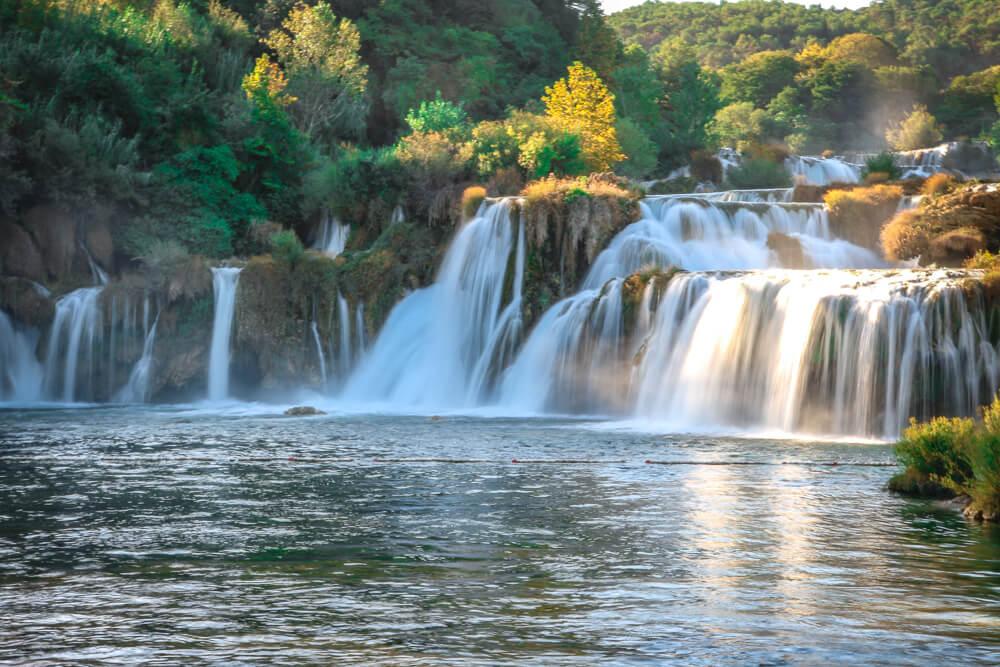 Skradinski buk in Krka National Park - Sibenik Guide