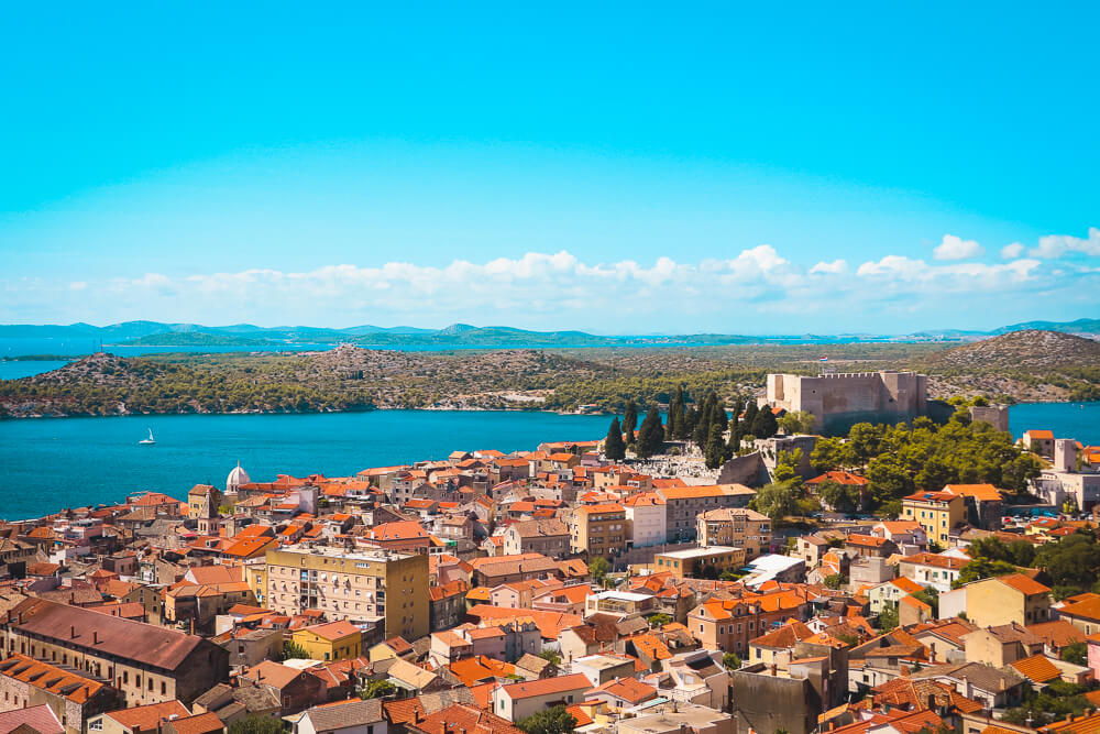 View of St Michael's Fortress - Sibenik Guide