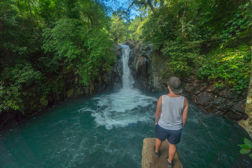 Kroya waterfall at Aling Aling, one of the places recommended in this Lovina guide