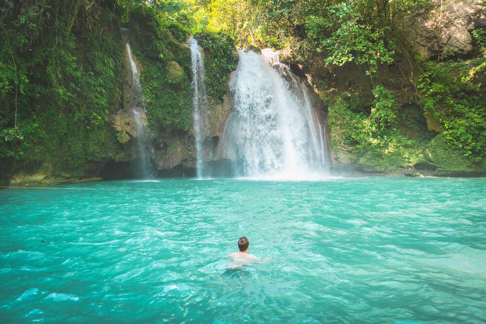 Kawasan falls, Moalboal travel guide