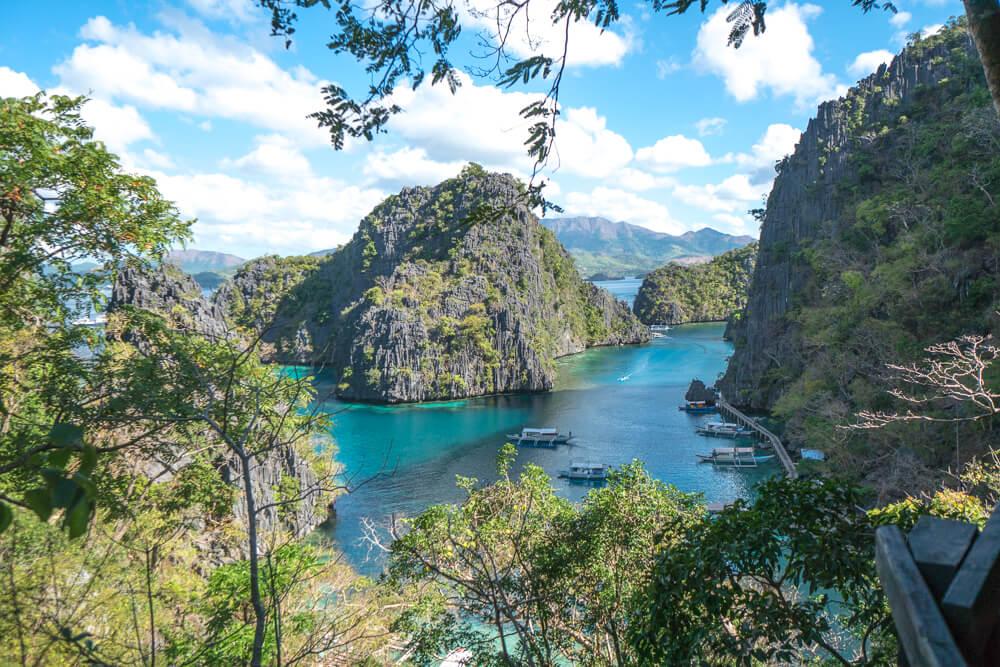2 week Philippines itinerary, Kayangan Lake