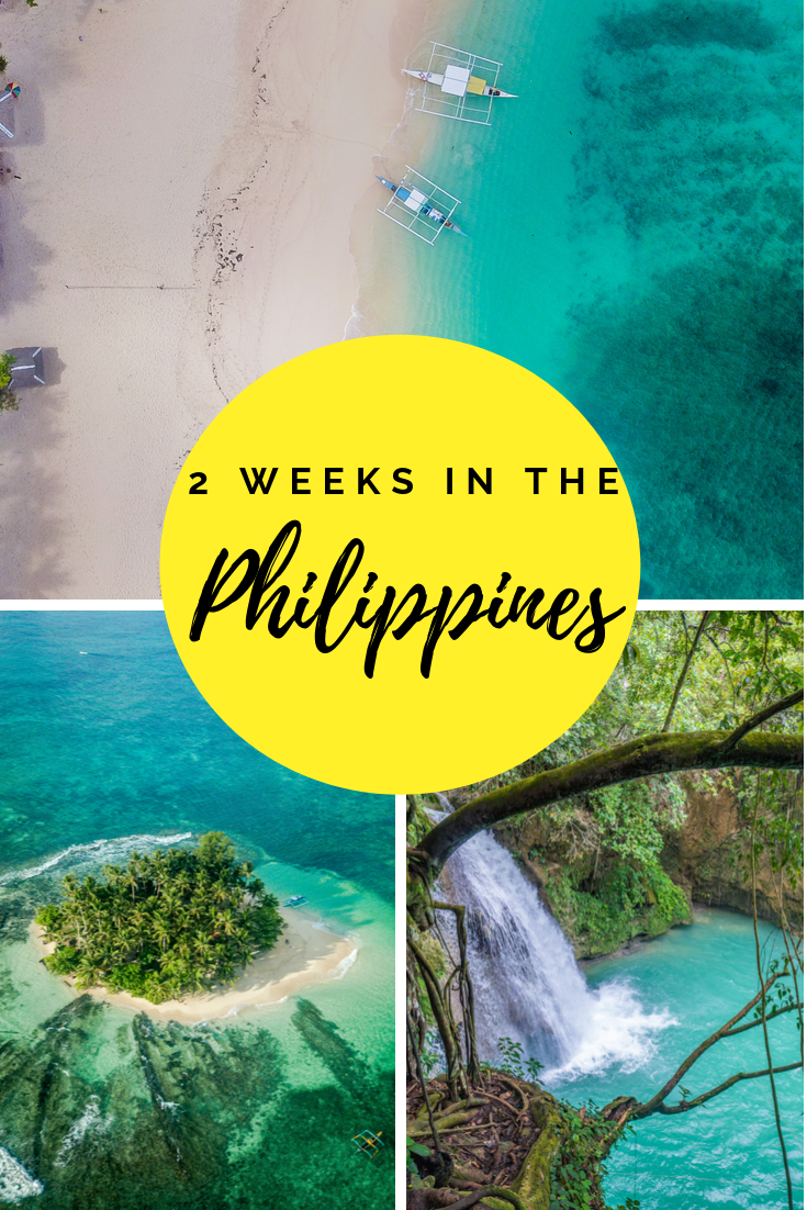 Philippines 2 week itinerary pin