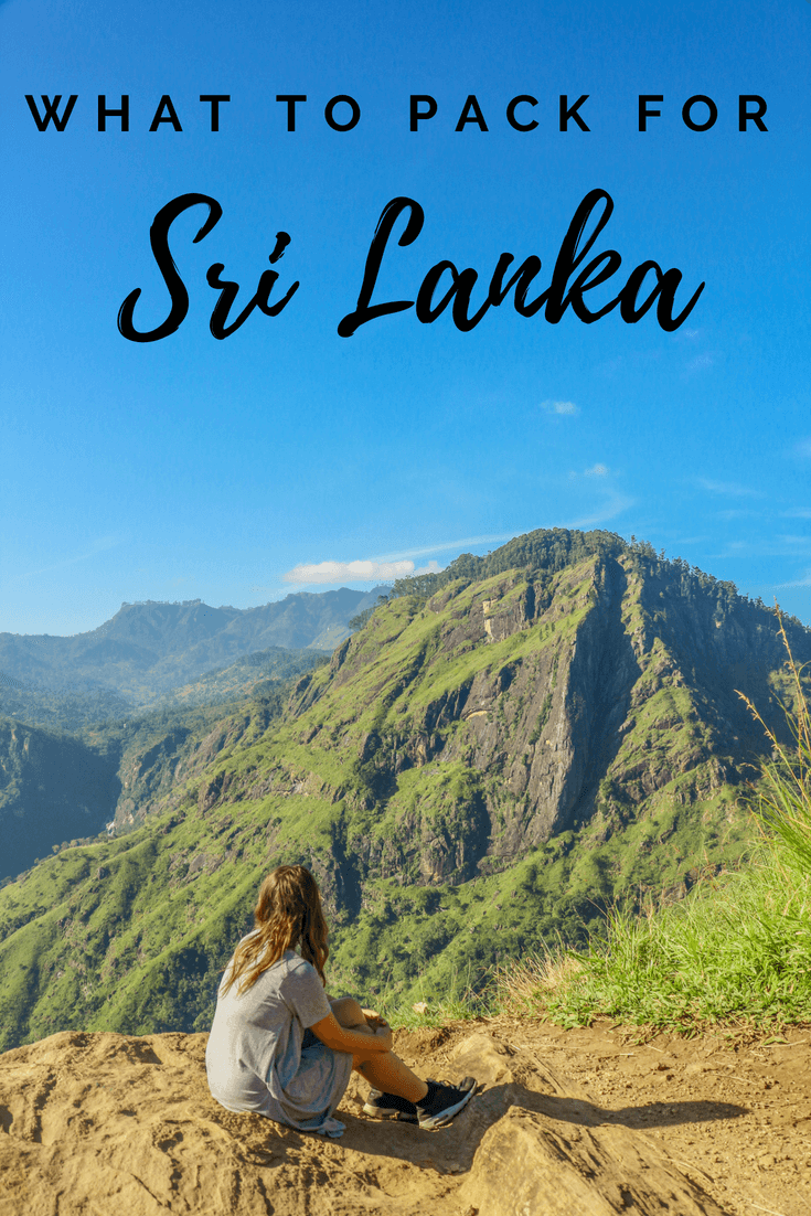 Planning to travel to Sri Lanka? There are so many places to visit in the country, from Ella to Colombo to Kandy to Mirissa beach to the teas of Nuwara Eliya, which makes finalising an itinerary hard. Once you've done that you need to decide what to pack for Sri Lanka. This guide features travel tips and products for trips to Sri Lanka, whether you're backpacking or looking for honeymoon destinations! #srilanka #travel #whattopack
