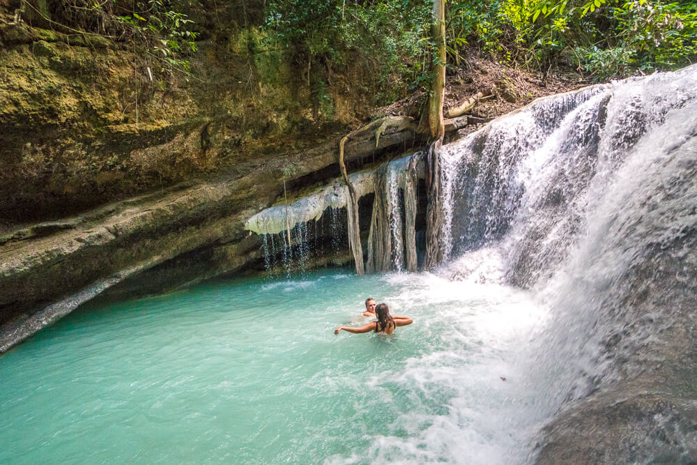 Level 1 at Aguinid falls, Cebu