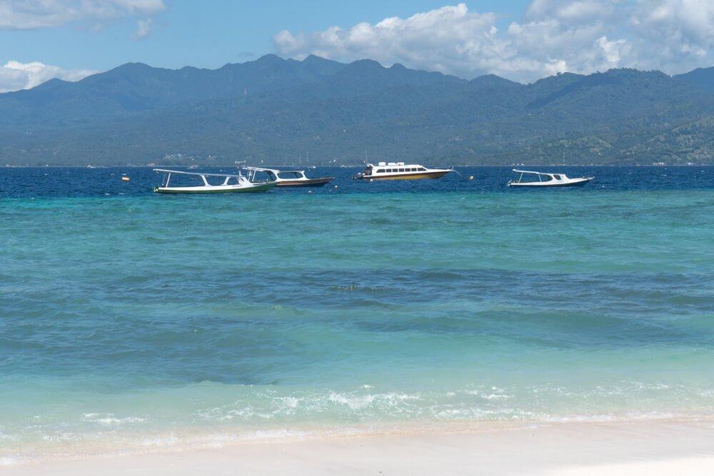 Beach at Gili Trawangan - 2 week Bali itinerary