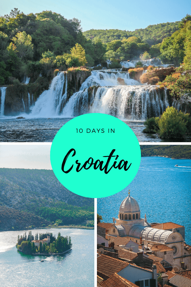 One of the most beautiful Eastern Europe destinations is Croatia. Whether you're going for 5 days, one week or 2 weeks, or on a vacation or on holidays, there are so many amazing things to do in Croatia! From cities to national parks, with or without kids, take a trip around this country and tick some places off your travel bucket list. Find out our top recommendations for what to do in Croatia, with this 10 day Croatia itinerary! #croatia #europe #croatiaitinerary #itinerary