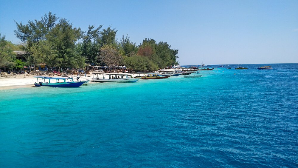 Gili Islands - having no port and boarding on land, one of our top tips for travelling Bali