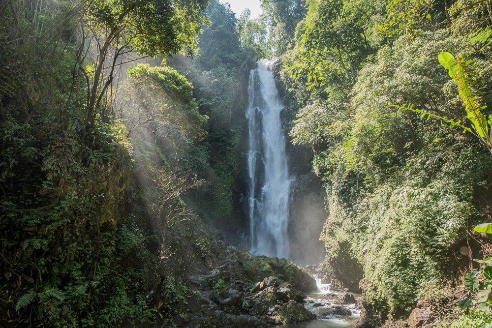 Laangan Melanting waterfall - Munduk waterfall trek one of our favourite spots in our 2 week Bali itinerary