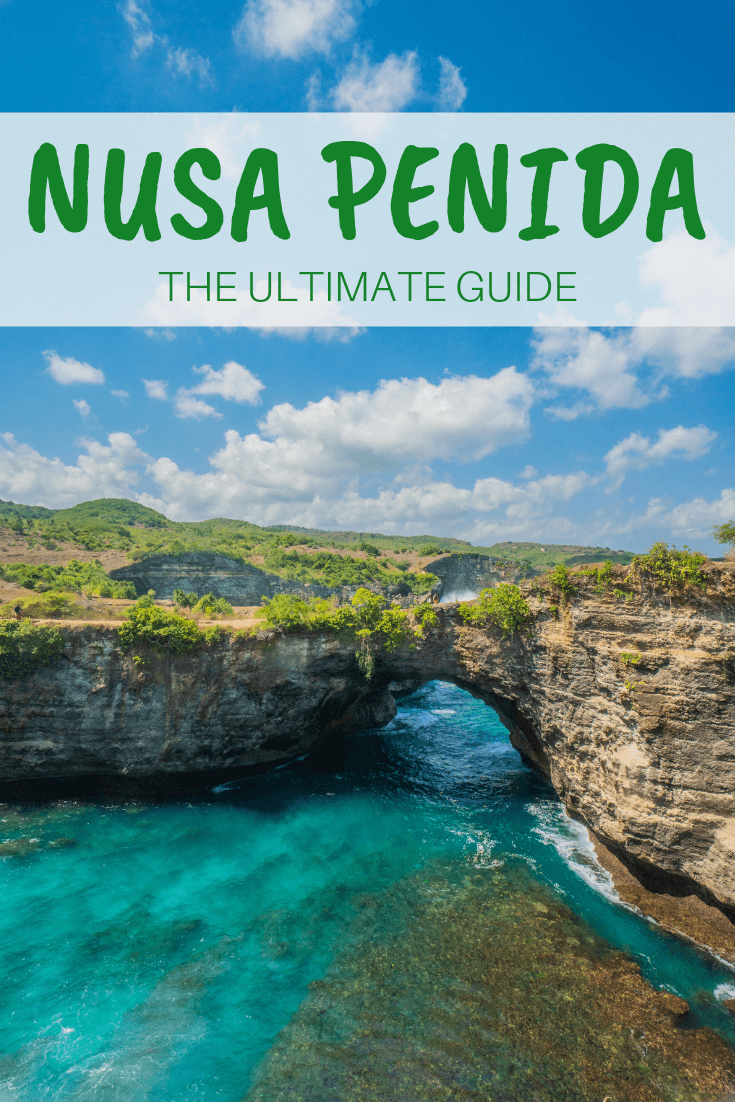 Nusa Penida is a great day trip from Bali; there are many things to do. From snorkelling or diving at manta point or Crystal Bay, to going to the instagram famous treehouse for a photoshoot to taking photography at sunset at broken beach or angels billabong and visiting beautiful Kelingking beach. Where to stay in Nusa Penida is answered in our guide with various accommodation or hotels options. Find the perfect spots to tour around with this travel guide to Nusa Penida! #bali #nusapenida