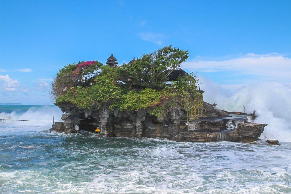 Tanah Lot temple - 2 week Bali itinerary