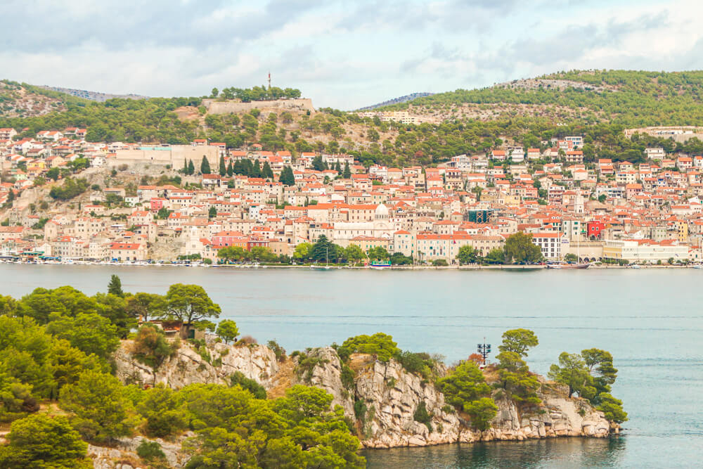 View of Sibenik - 10 days Croatia itinerary