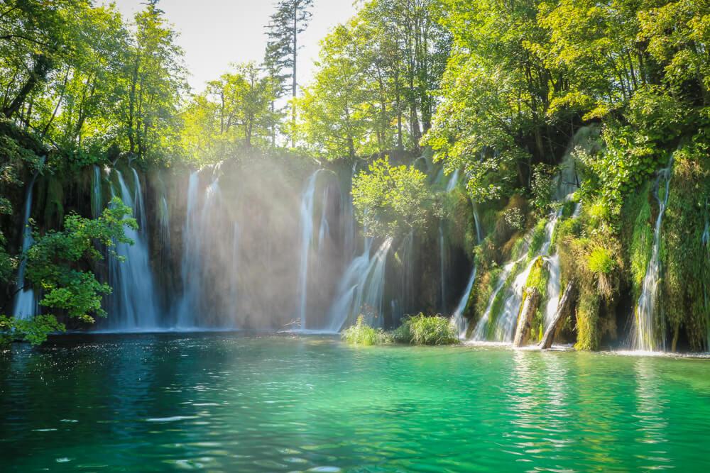Waterfall at Plitvice Lakes National Park - 10 days Croatia itinerary