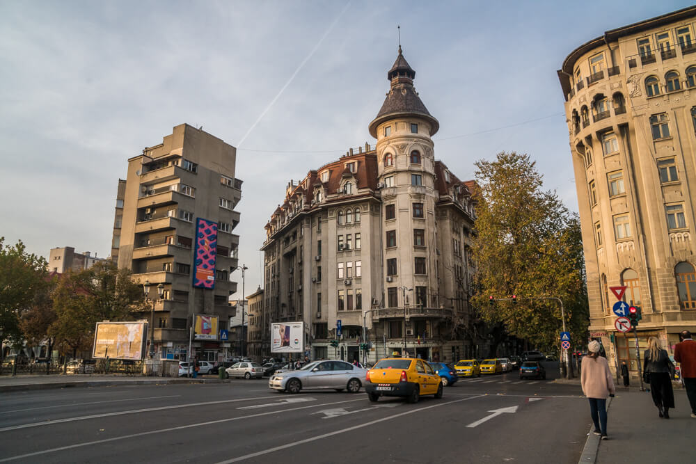 Admiring the architecture is a great thing to do in Bucharest