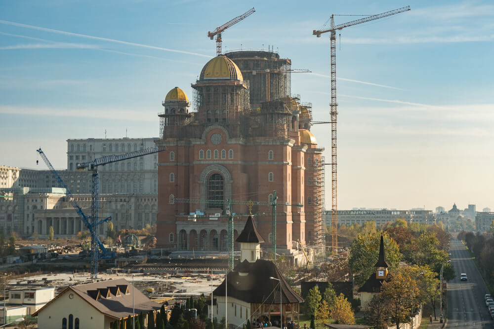 People's Salvation Cathedral under construction