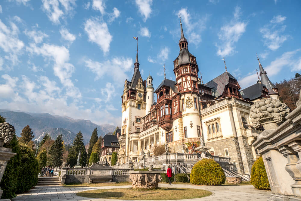 Take a day trip to Peles Castle - one of the amazing things to do from Bucharest