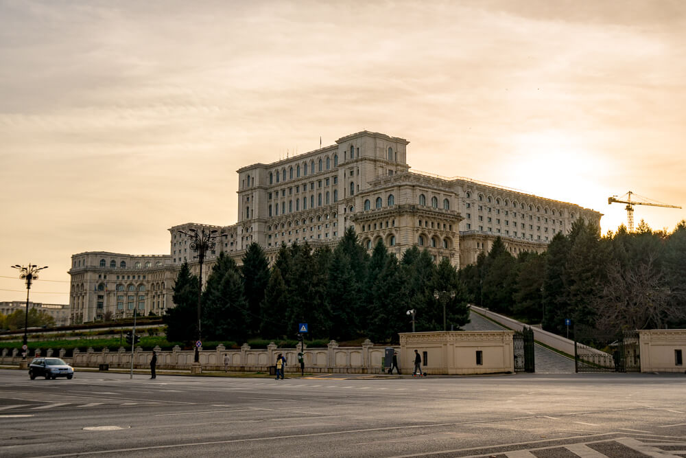 The Palace of Parliament - one of the top things to do in Bucharest