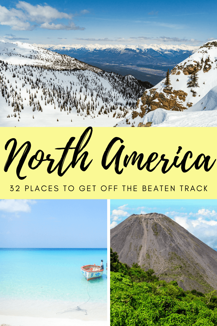Across North America it is easy to do travel that gets you off the beaten path. From National Parks in the USA or cities, there are a variety of different vacations you can have in these desinations, not forgetting some amazing beaches. Create a different kind of bucket list with these trips! #offthebeatenpath #offthebeatentrack #northamerica #usa