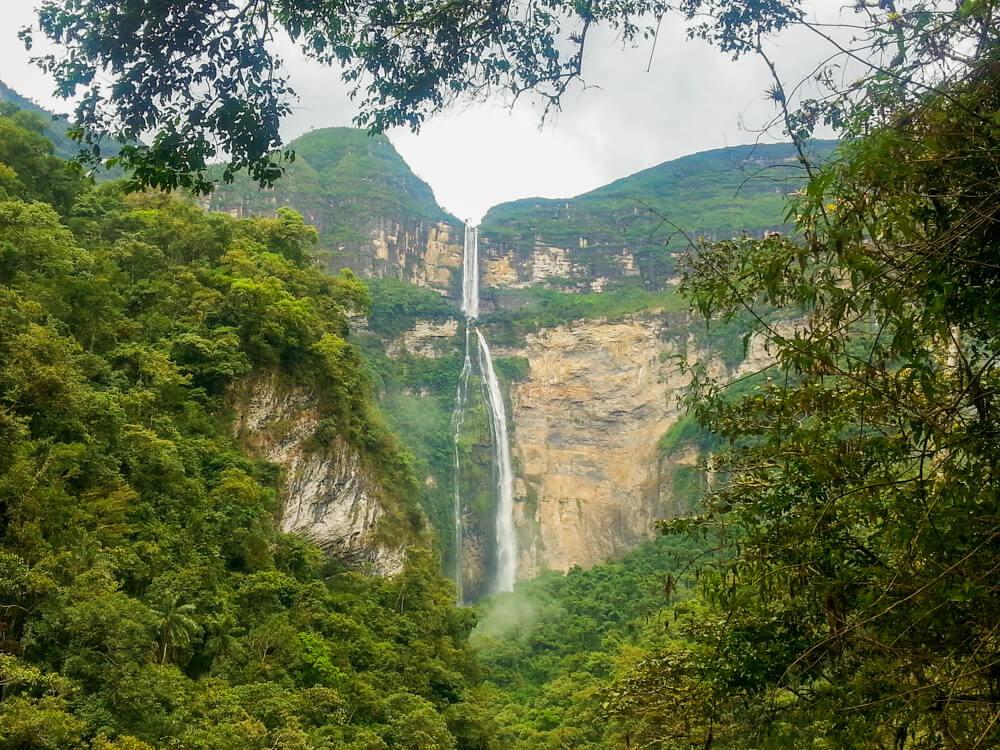 Gocta Waterfall, Chachapoyas in Northern Peru, South America