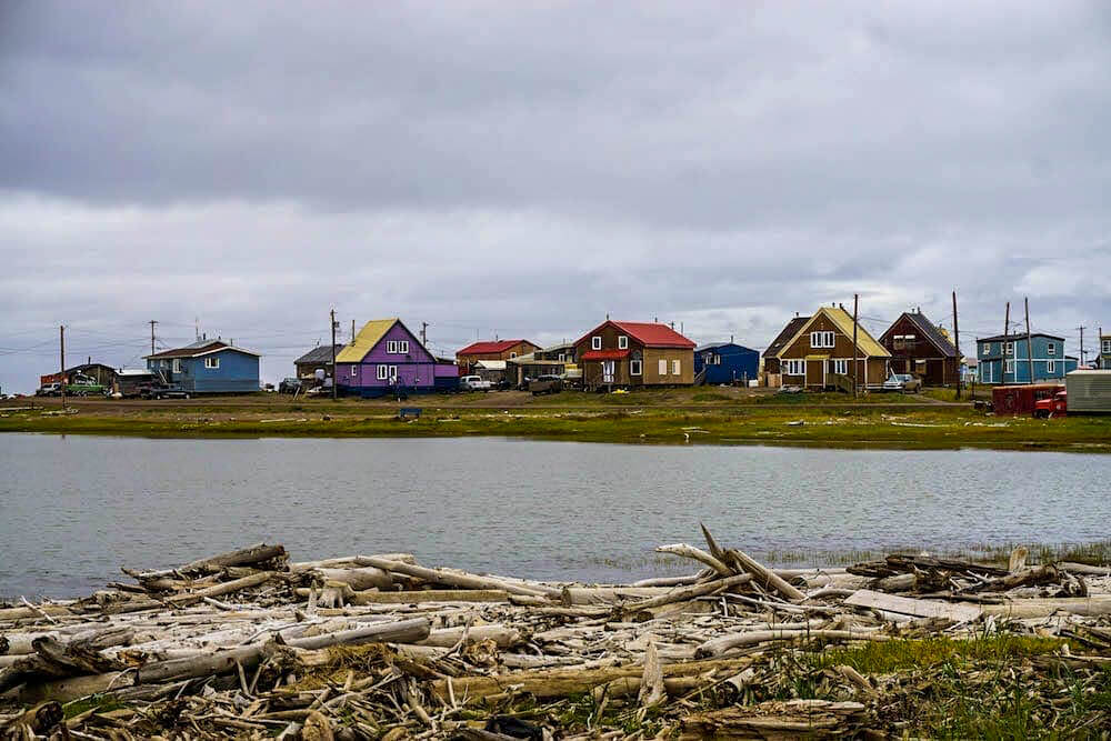 Houses in Tuktoyaktuk - off the beaten path places for North America