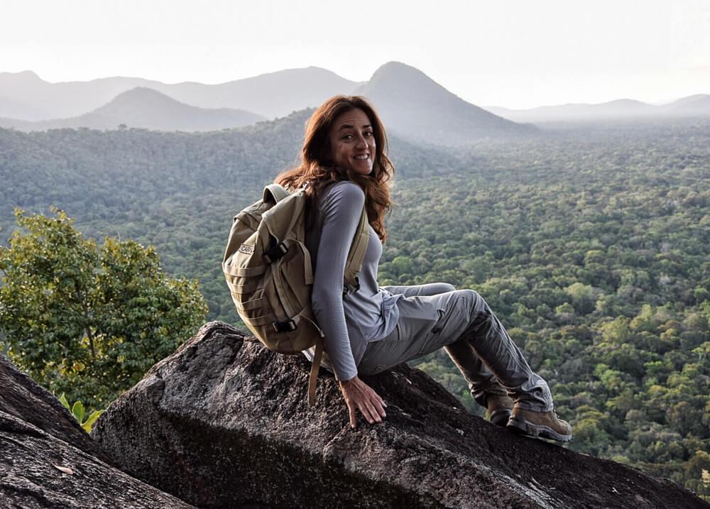 Landscape in North Rupununi, Guyana - off the beaten path destinations in South America
